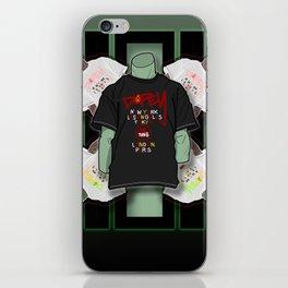 Jade Manikin iPhone Skin