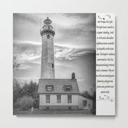 Presque Isle Lighthouse New Metal Print