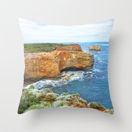 Australia's Great Ocean Road Throw Pillow