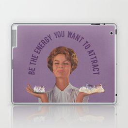 Be The Energy You Want to Attract Laptop & iPad Skin
