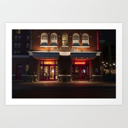 Serenity of Last Month - The Kendall Hotel in Cambridge, MA Art Print
