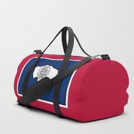 Wyoming State Flag Duffle Bag