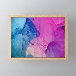 Bahama Magenta Framed Mini Art Print