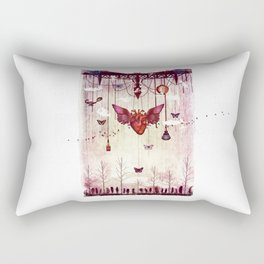 In the darkest hour Rectangular Pillow