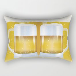 illustration of beer glass, Beer Rectangular Pillow