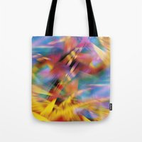 prism Tote Bags featuring Prism by renajoy