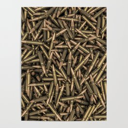 Rifle bullets Poster