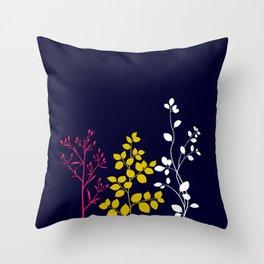 Bloom- plain Throw Pillow