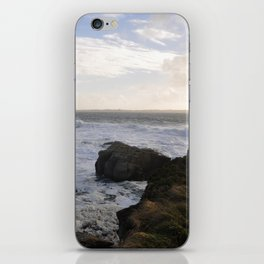 The Coast Of Foam iPhone Skin