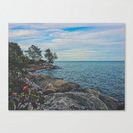 Beach vibez Canvas Print