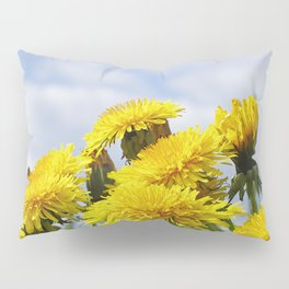 Dandelion meadow Pillow Sham