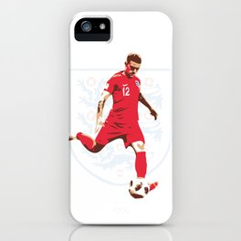 Kieran Trippier - Whip it Like Tripp iPhone Case