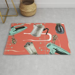 Fifties Kitchen Apricot Rug