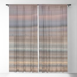 Back Lit Agate Sheer Curtain