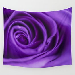 ultraviolet rose Wall Tapestry