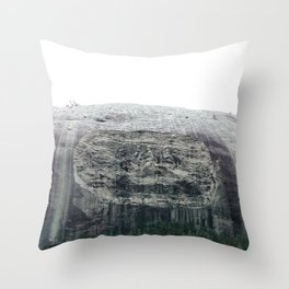 Atlanta Stone mountain park Throw Pillow