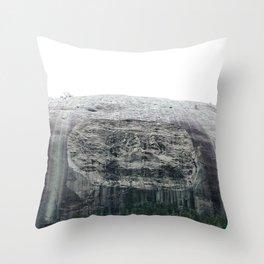 Atlanta Stone mountain park Throw Pillow