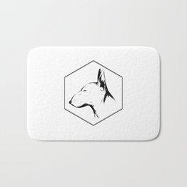 Canine Republic : Bull Terrier Bath Mat