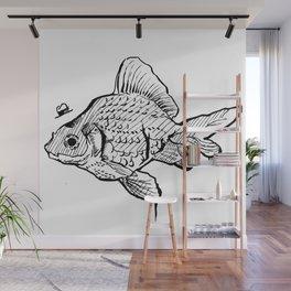 Mr Fish Wall Mural