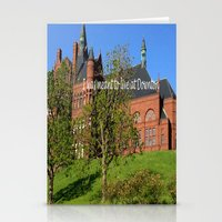 downton abbey Stationery Cards featuring Downton Desire by Nonna Originals
