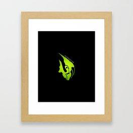 Interceptor Portrait Framed Art Print