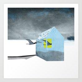 Arctic birds of a feather Art Print