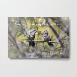 Good Care Metal Print