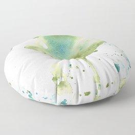 Green Heart Floor Pillow