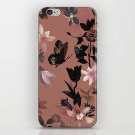Autumn flowers in the garden iPhone Skin