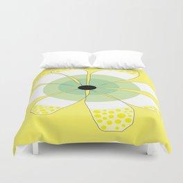 FLOWERY VIGGA  / ORIGINAL DANISH DESIGN bykazandholly Duvet Cover