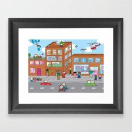 Oekie Street  Framed Art Print
