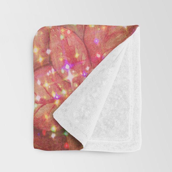Christmas Bible Verse Typography Throw Blanket