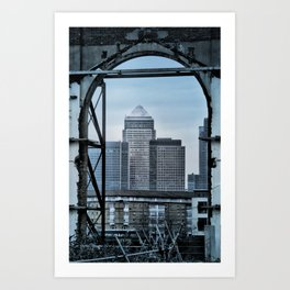 Canary Wharf Art Print