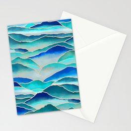 Misty Malibu Mountains  Stationery Cards