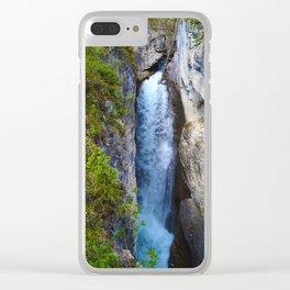 Beauty Creek Waterfall Clear iPhone Case