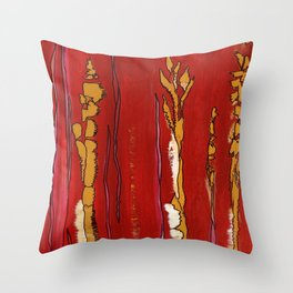 Playful Lines Throw Pillow