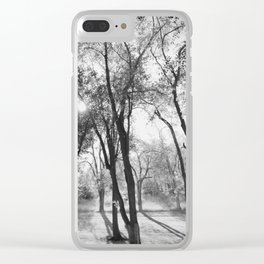 Into The Shadows Clear iPhone Case