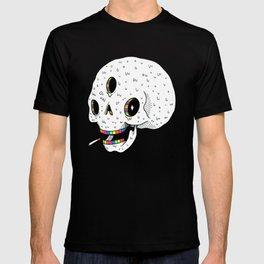 Drippy Space Skull T-shirt