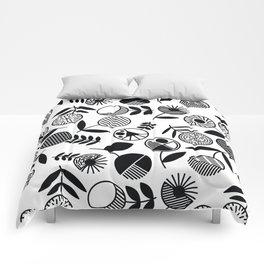 Geometric Florals Comforters