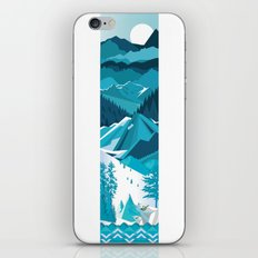 In The Ice Cold North iPhone & iPod Skin