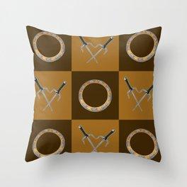 Xena Color Block Throw Pillow