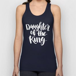 Daughter of the King Unisex Tank Top
