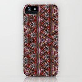 Balinese Friendship Bracelets Digital Weaving - Meli Melo iPhone Case