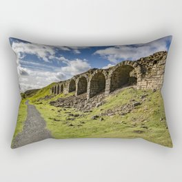 Rosedale ironstone kilns Rectangular Pillow
