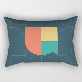 AYB Armenian Lettering Rectangular Pillow
