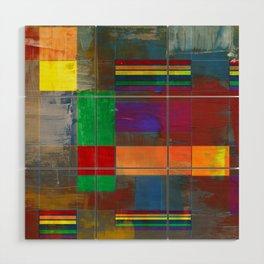 Mid-Century Modern Art - Rainbow Pride 2.0 Wood Wall Art