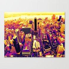 Color The City Canvas Print
