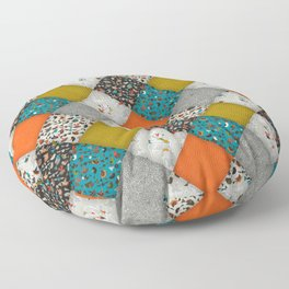 bird love diamonds Floor Pillow