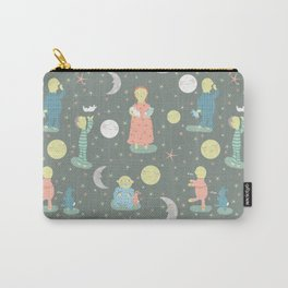 Everybody...off to bed - Childrens book illustration/Pattern Carry-All Pouch