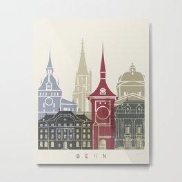Bern skyline poster Metal Print
